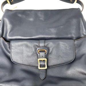 Lauren Ralph Lauren Bags - Lauren Ralph Lauren Navy Leather Hobo Bag 9fbf87b08a902